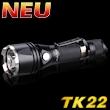 Fenix TK22 inkl. 18650 Akku/Led Taschenlampe
