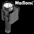 Mactronic Patrol MX255L-RC Led-Taschenlampe mit Ladestation