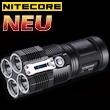 NiteCore TM26 QuadRay inkl. 4x 18650 Akkus/Led Taschenlampe 3500 lm